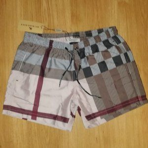 Burberry Men's Swim Trunks Cream